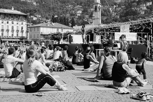 Fresh from My Darkroom: Yoga for Africa!