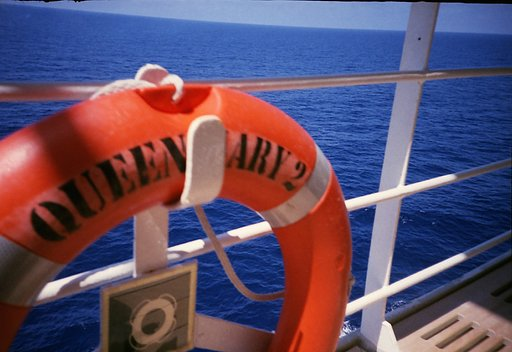 on board the Queen Mary 2