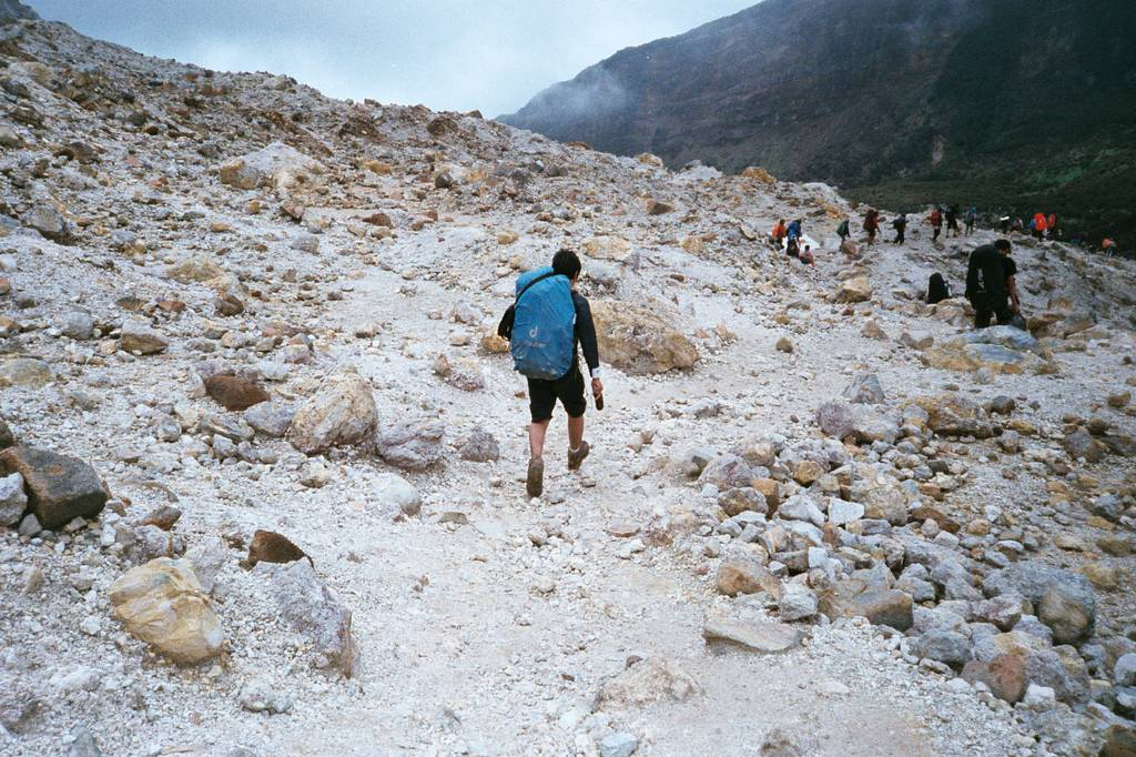 Travel Stories: Trekking Mount Papandayan by shufi
