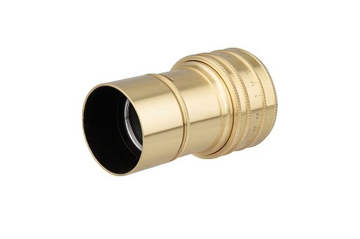Brass Black or Chrome - Chose your Daguerreotype Achromat 2.9/64 Art Lens