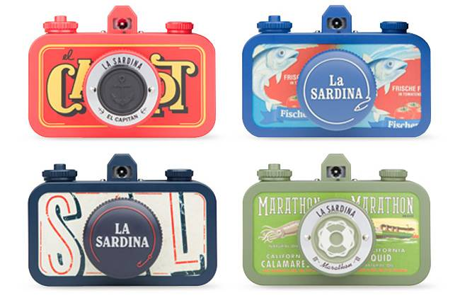 All Aboard with La Sardina - The new 35mm Lomography Camera!
