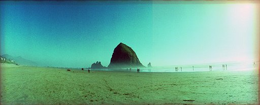 Along the Oregon Coast, Cannon Beach, and Haystack Rock