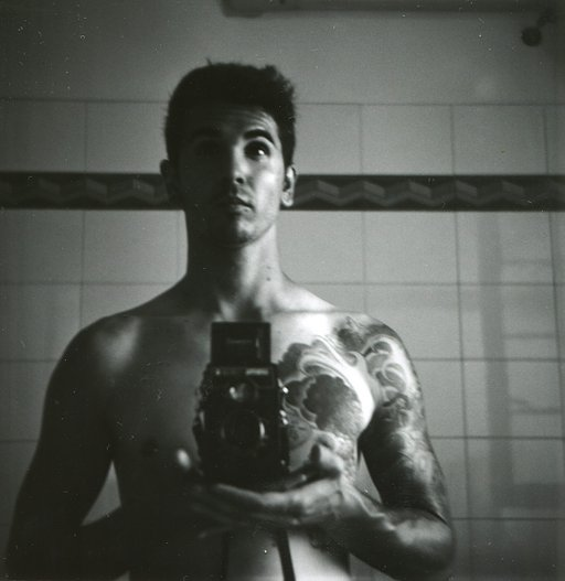 Super Selfies Taken Using the Lubitel Cameras