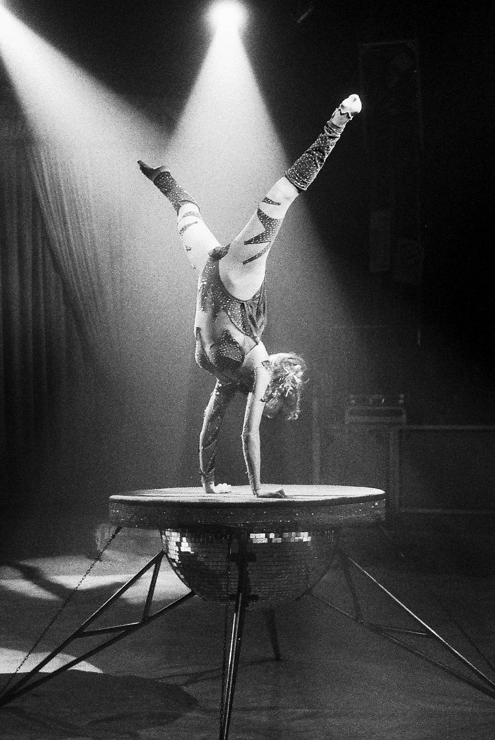 A Salute to the Masters: Contortionist (A Tribute to Mary Ellen Mark)