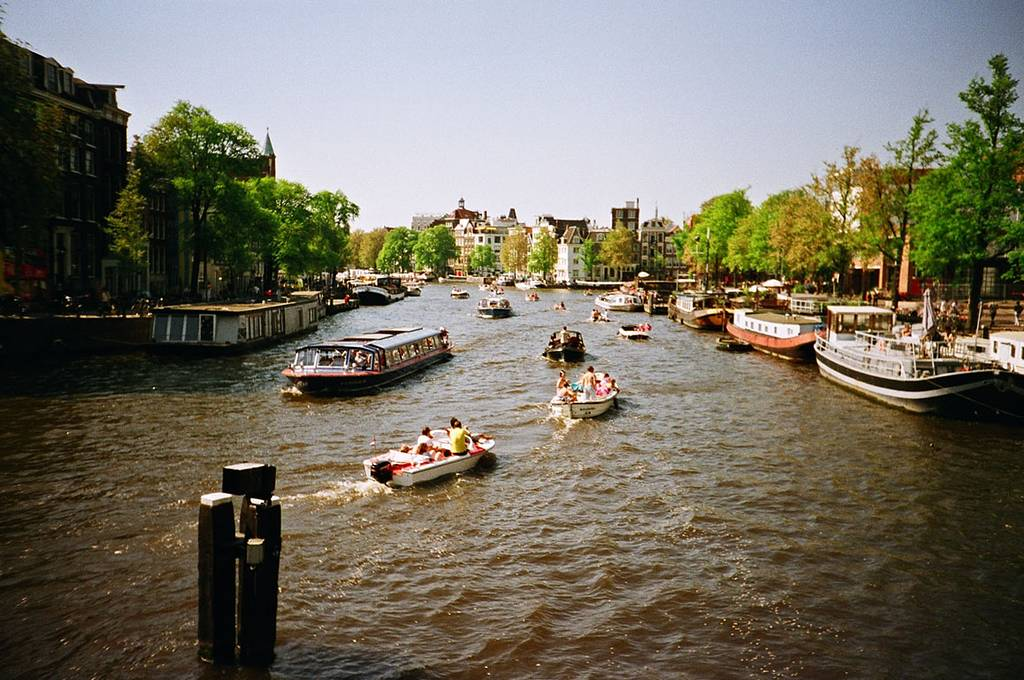 Amsterdam, the Water City