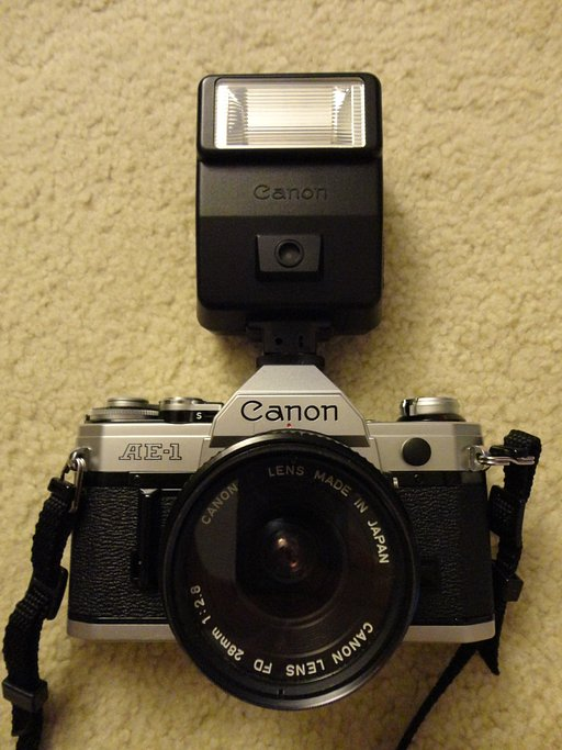 Canon Speedlite 155A Flash, A Perfect Match for the AE-1
