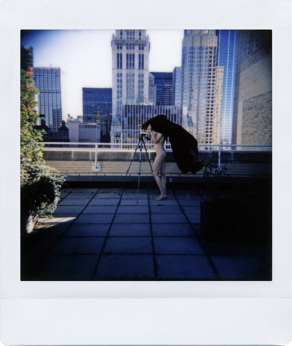 Paper + Work: A Diana Instant Square Series by B.A. Van Sise