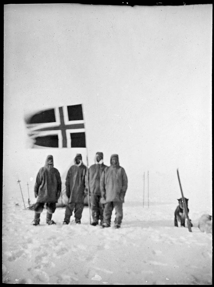 The Photographic Archive of Roald Amundsen's Icy Expedition