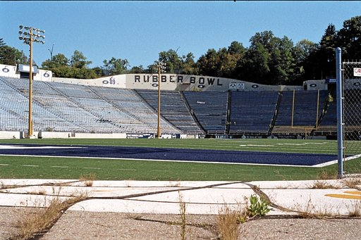 An Analogue Adventure into Minor League Sports Part Four: Akron Rubber Bowl