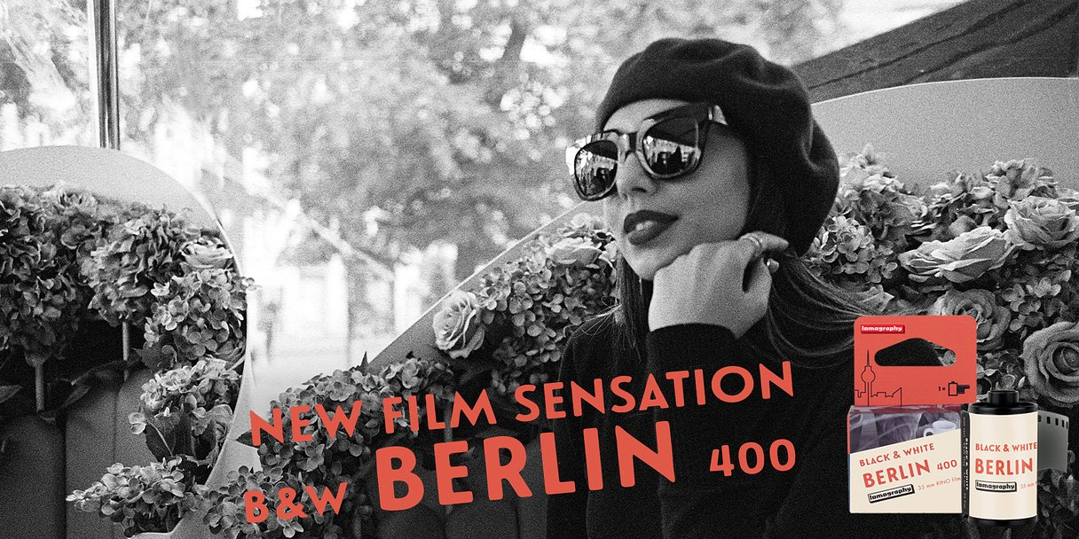 Introducing the New B&W 400 35 MM Berlin Kino Film