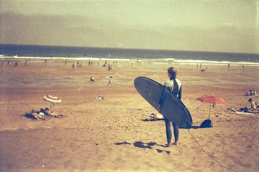 Perfect Combination: Smena 8M, Redscale Film, and the Seaside