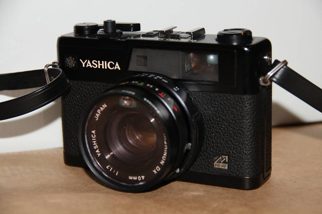 The Electronic Sunsets with the Yashica Electro GX