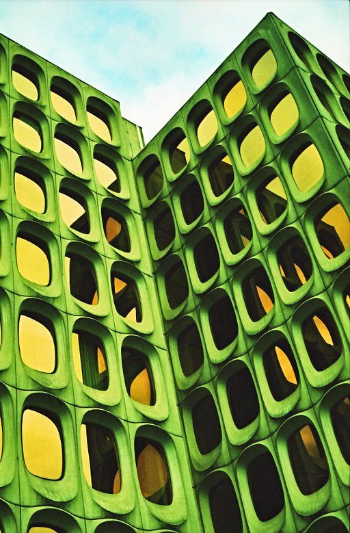 Inspired by nature: photos of honeycomb-inspired buildings