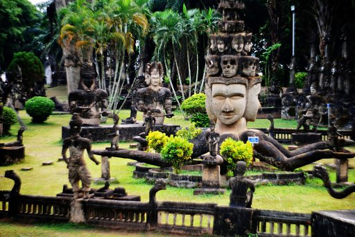 Places to Go for Traveling Lomographers: Buddha Park