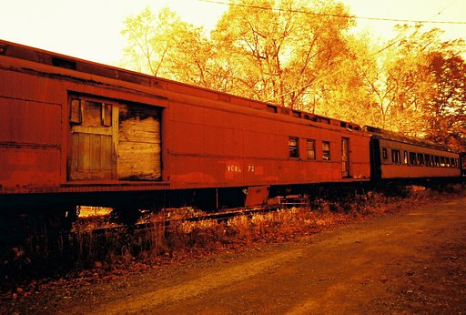 Forgotten Places - New Hope Ivyland Trains