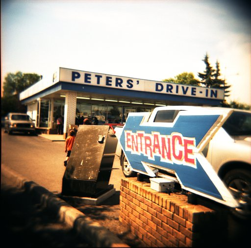 Peters' Drive-In: the Drive In You Can't Drive By