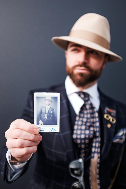 "Alessandro Michelazzi's ""Dapper Portraits"" with the Lomo'Instant"