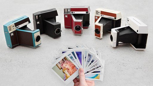 Give Your Creativity the Edge! Introducing the Lomo'Instant Square