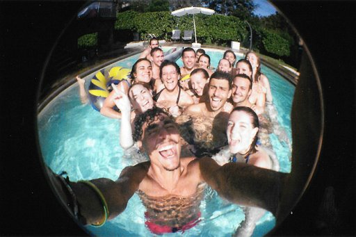Estate con la Lomography Fisheye no.2