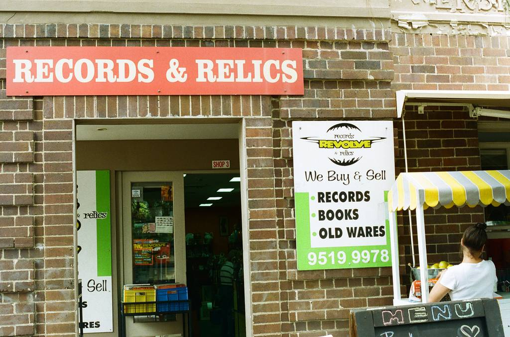 Vinyl Havens: Revolve Records and Relics, Erskineville