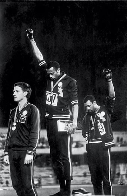 Influential Photographs: Black Power Salute in the 1968 Mexico Olympics by John Dominis