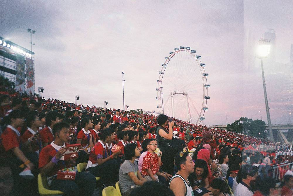 Singapore National Day in Analogue!