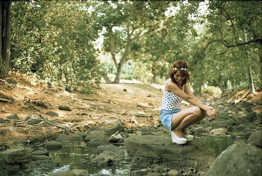Analogue for a Day: Photo shoot at the Park