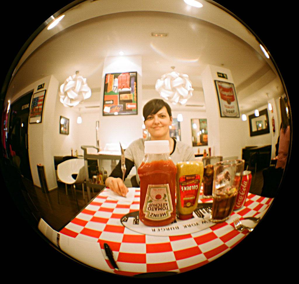 See a Circular World with the Fisheye Lens 20mm for Diana+