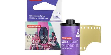 Back with a Bang: The New and Improved LomoChrome Purple Film