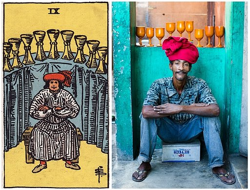 Restaging the Tarot: Photographer Alice Smeets in Haiti