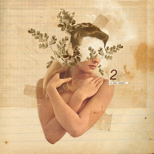 Clever Collages by Eduardo Recife, Touched by the Hands of Time
