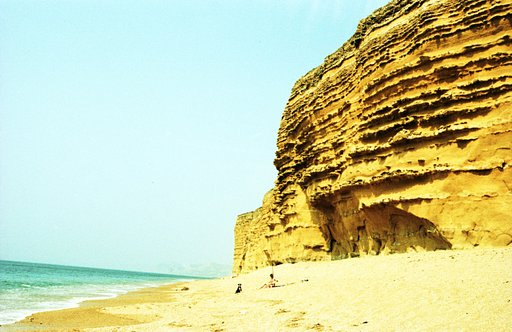 Bridport Sands of East Cliff, Dorset