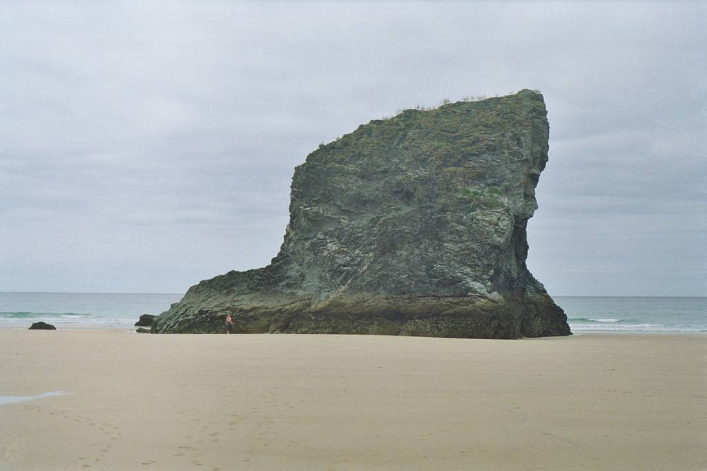 Bedruthan Steps - Ancient Giants