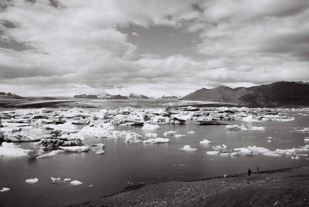 jökulsárlón in the land of fire and ice lomography