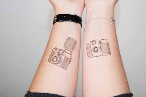 Express Yourself Using Lomo Temporary Tattoos