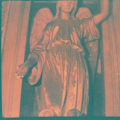 Eerie Snaps Taken with the Diana Baby and Lomography's Lobster Redscale 110 Film