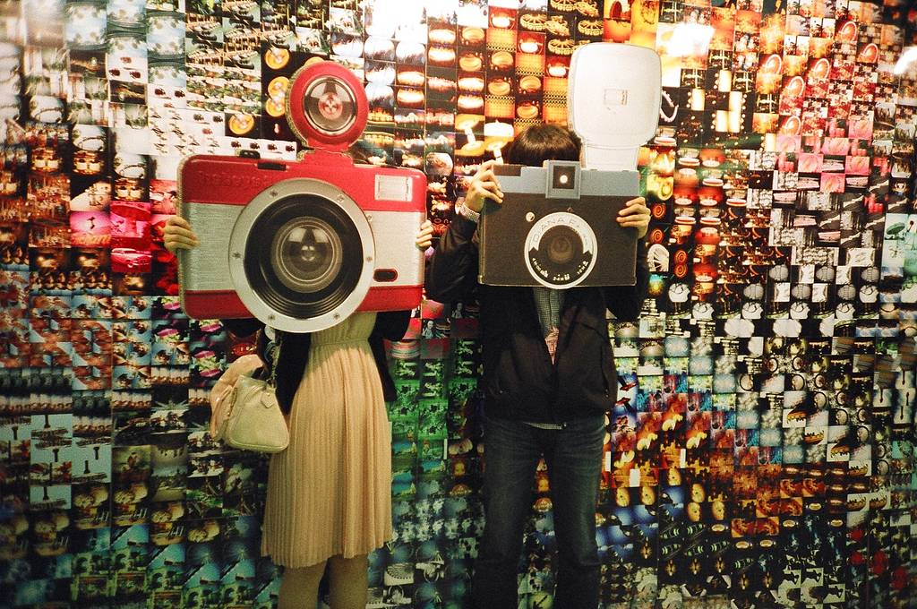 Lomography in Times Square Seoul - Live report!