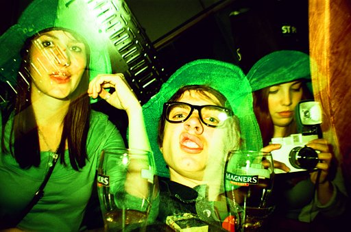 Going Green on Paddy's Day - St. Patrick's in Lomographs