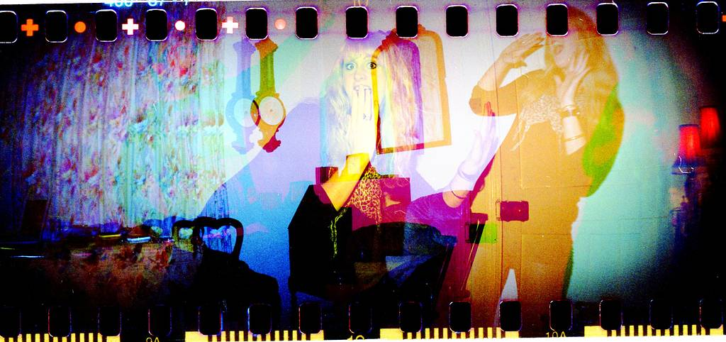 Fantastic Double and Multiple Exposure Shots Taken with the Sprocket Rocket