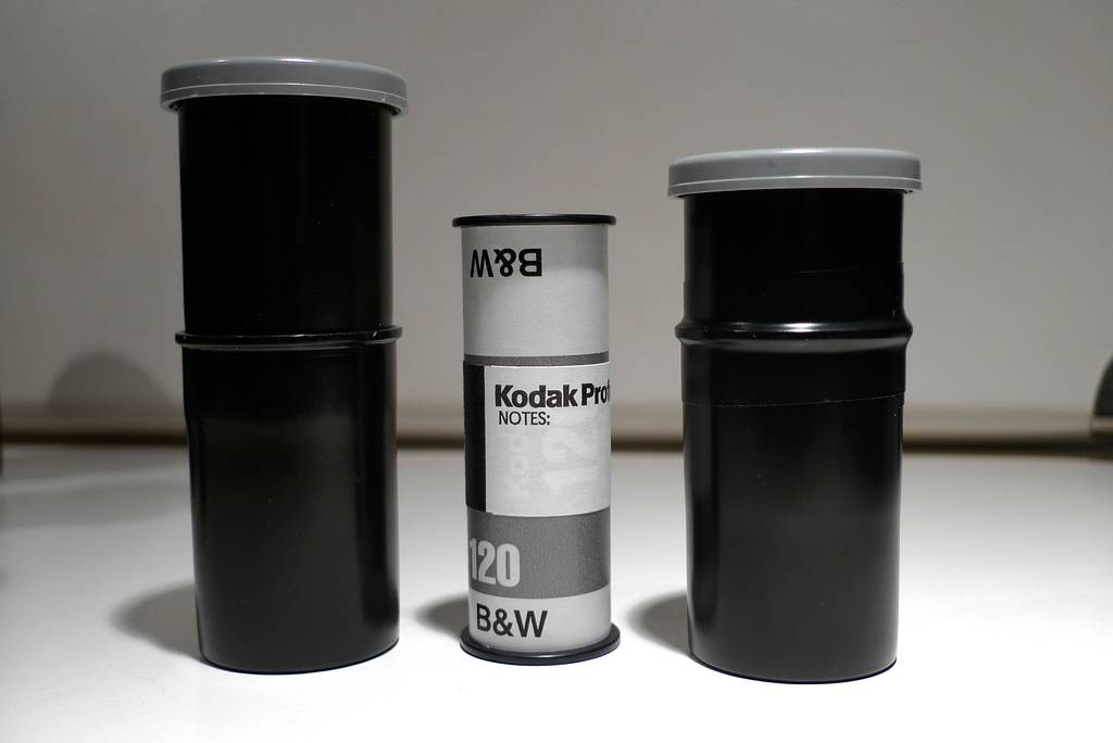 Recycle your 35mm Canisters to Make Home for 120 films!