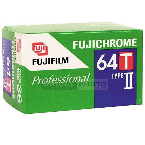 Fuji 64T Type II: An Unpredictable, Rare Tungsten Film