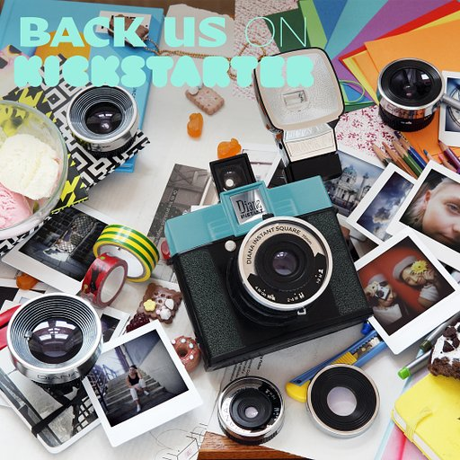 Last 24 Hours left to Save 30% When You Back the Diana Instant Square Camera on Kickstarter!