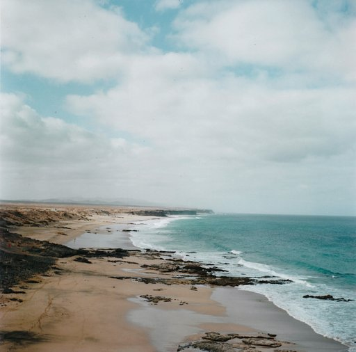 Around the World in Analogue: Piedra Playa, Fuerteventura, Spain