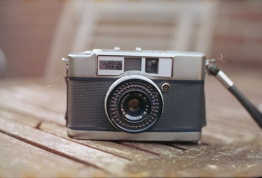 Half the Frame, Double the Fun: Yashica 72-E