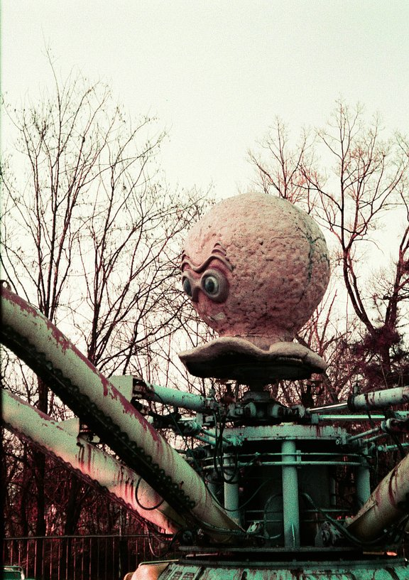 Around the World in Analogue: Yongma Land Abandoned Theme Park