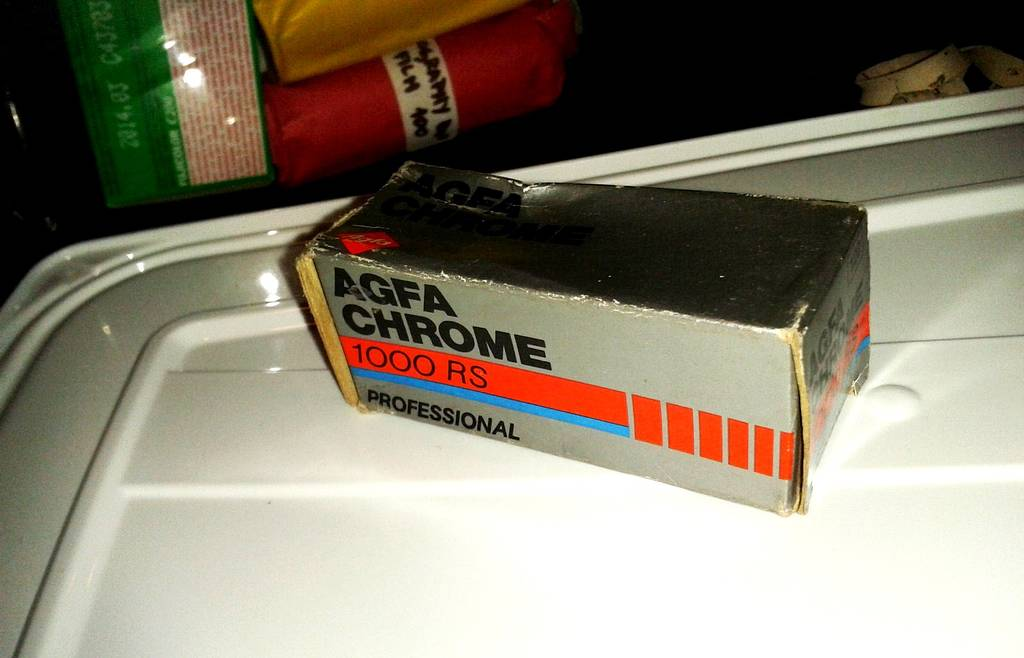 Stuck in Time: The Agfachrome1000 RS, 120mm