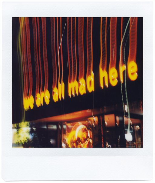 'Words on the street' volgens de Lomo'Instant Square