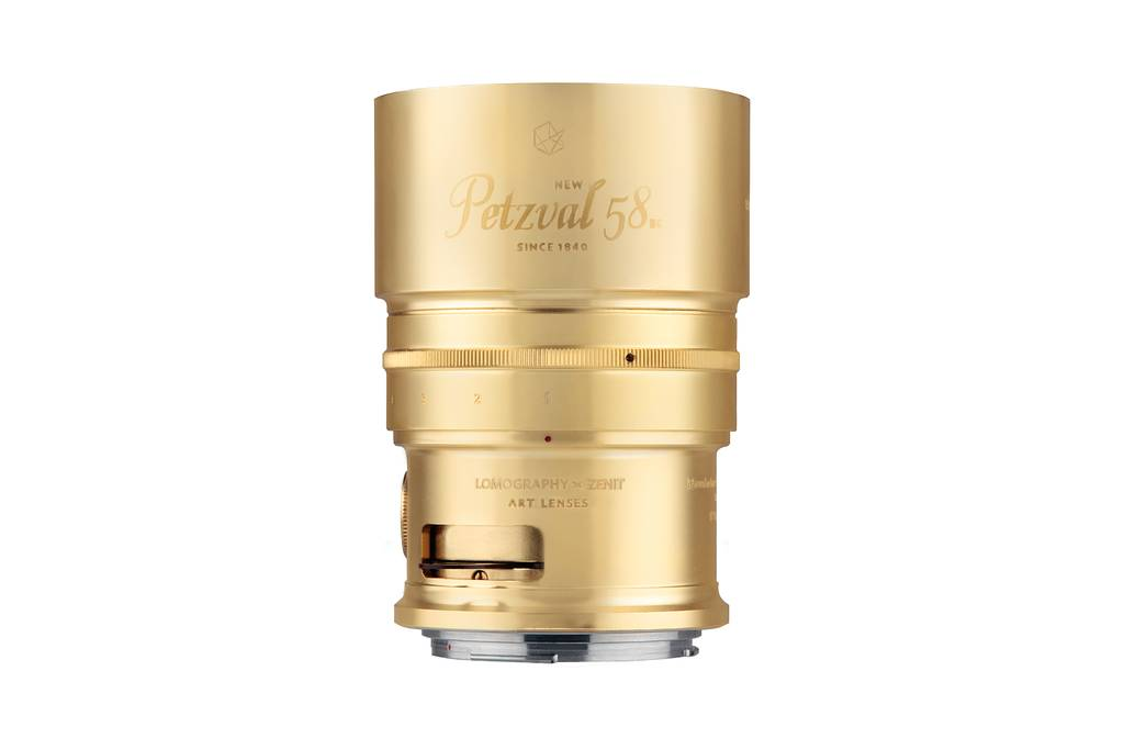 The New Petzval 58 Bokeh Control Art Lens - Available Now on Kickstarter!