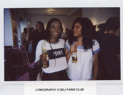 "Vernissage de ""Bloom"" à la Galerie Chappe, avec Deli Paris Club et le Lomo'Instant Wide"