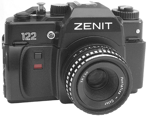 The Zenit 122K: My Lovely Russian Baby